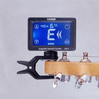Clip touchscreen rechargeable tuner